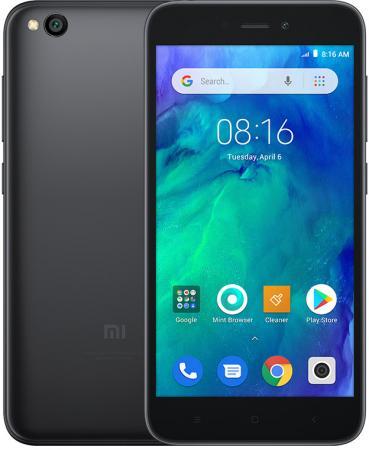 Смартфон Xiaomi Redmi Go черный 5 8 Гб LTE Wi-Fi GPS 3G Bluetooth 4G смартфон sony xperia xa1 dual белый 5 32 гб lte wi fi gps 3g nfc