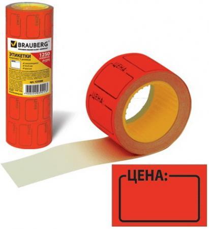 Фото - Этикет-лента Цена, 35х25 мм, красная, комплект 5 рулонов по 250 шт., BRAUBERG, 123586 н г шредер профессиональная этика и этикет
