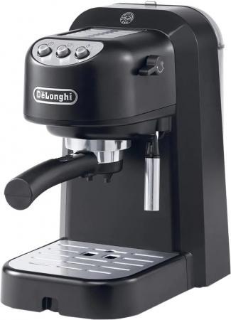 Кофеварка эспрессо Delonghi EC251.B 1100Вт черный кофеварка гейзерная delonghi emkm 4 b черный серебристый