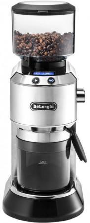 Кофемолка Delonghi KG521.M 150Вт сист.помол.:ротац.нож вместим.:350гр черный цена и фото
