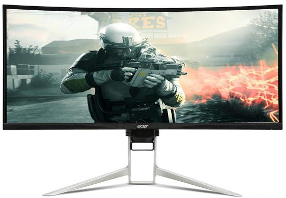 Монитор 34 Acer Gaming XR342CKPbmiiqphuzx черный IPS 3440x1440 300 cd/m^2 1 ms HDMI DisplayPort USB UM.CX2EE.P01