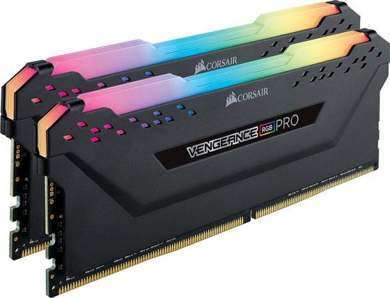 Память DDR4 2x8Gb 3200MHz Corsair CMW16GX4M2C3200C16 RTL PC4-25600 CL16 DIMM 288-pin 1.35В цена и фото