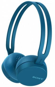 Гарнитура SONY WH-CH400 синий гарнитура