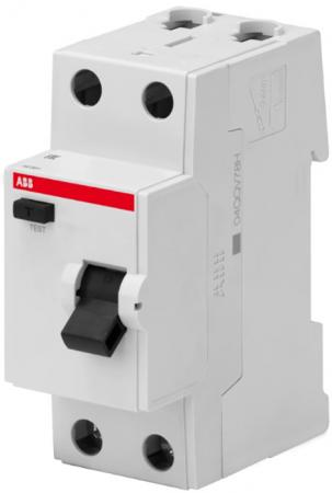 ABB 2CSF602041R1630 Выкл.диф.тока 2P, 63A, 30мА, AC, BMF41240