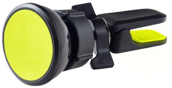 Perfeo PH-518-2 Автодержатель для смартфона до 6,5/ на воздуховод/ магнитный/ черный+желтый (PF_A4461) автодержатель