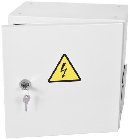 Шкаф ЭКОНОМ уличный всепогодный настенный укомплектованный (В500 Ш500 Г250), комплектация T2-IP65