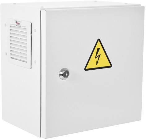 Шкаф ЭКОНОМ уличный всепогодный настенный укомплектованный (В500 Ш500 Г300), комплектация T1-IP54