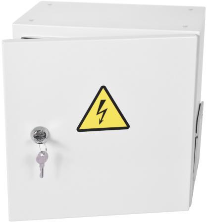 Шкаф ЭКОНОМ уличный всепогодный настенный укомплектованный (В600 Ш600 Г300), комплектация T1-IP54