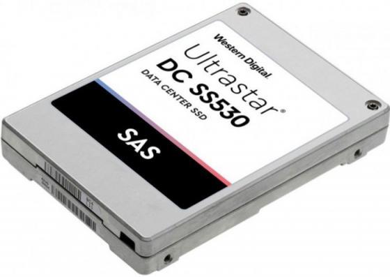 "Накопитель твердотельный WD Твердотельный накопитель SSD Western Digital Ultrastar DC SS530WUSTR6440ASS204 (0B40357) 400ГБ 2.5"" 15мм SAS 12Гб/с (TLC) 3DWPD твердотельный накопитель thunderbolt2 lacie porsche design slim120gb ssd lac9000342"
