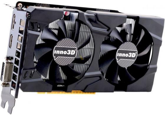 Видеокарта Inno3D GeForce GTX 1050 Twin X2 PCI-E 3072Mb GDDR5 96 Bit Retail N1050-1DDV-L5OM видеокарта inno3d geforce gtx 1050 ti twin x2 1290mhz pci e 3 0 4096mb 7000mhz 128 bit dvi hdmi hdcp n105t 1ddv m5cm