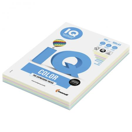 Цветная бумага IQ Бумага IQ color цветная пастель RB01 A4 100 листов полуботинки мужские для активного отдыха tr sy 18a черный размер 43