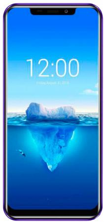"лучшая цена Смартфон Oukitel C12 PLUS 4G Purple 4 Core (1.3GHz)/2GB/16GB/6.18"" 996*480/8Mp+2Mp/5Mp/2Sim/3G/4G/BT/WiFi/GPS/Android"