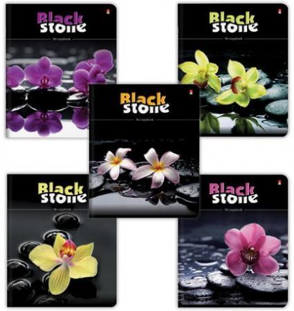 Тетрадь 96 листов, АЛЬТ, клетка, конгрев, гибридный лак, Цветы и камни NEW, 7-96-028 альт тетрадь platinum 96 листов клетка