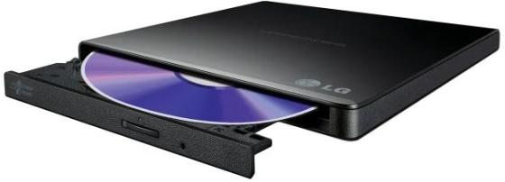 Внешний привод DVD±RW LG GP57EB40 USB 2.0 черный Retail внешний привод dvd±rw lg gp95nb70 usb 2 0 черный retail