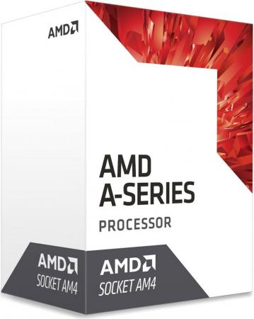 Процессор AMD A6 9400 AM4 (AD9400AGABBOX) (3.7GHz/AMD Radeon R5) Box amd a6 6400k box black edition