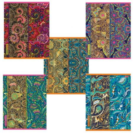 Тетрадь общая Hatber Gold color 96 листов клетка скрепка