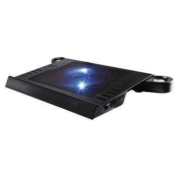 Подставка для ноутбука Hama (00053063) черный охлаждающая подставка для ноутбука hama 00053065