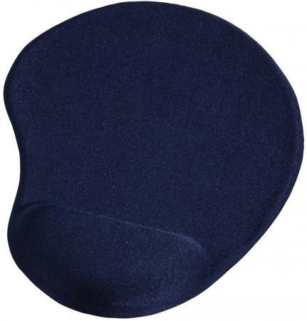 лучшая цена Коврик для мыши Hama Ergonomic синий