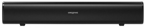 Колонки Creative Stage Air 1.0 черный 20Вт колонки creative t3250w 9вт bluetooth черный