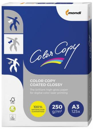 Фото - Бумага COLOR COPY GLOSSY, мелованная глянцевая, А3, 250 г/м2, 125 л., для полноцветной лазерной печати, А++, Австрия, 138% (CIE) зефирюшки love is воздушный зефир для десертов 125 г