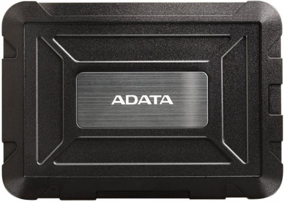 """Внешний корпус A-DATA ED600 для HDD/SSD 2.5"""", USB 3.1, противоударный, черный недорого"""