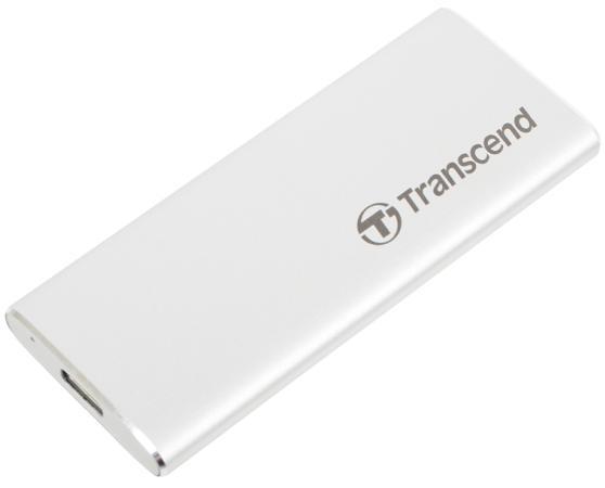 Комплект с корпусом для установки SSD Transcend TS-CM42S, M.2, USB 3.1, Enclosure Kit, Серебристый