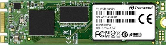 Твердотельный диск 1TB Transcend MTS800S, M.2, SATA III [ R/W - 460/560 MB/s] твердотельный диск 240gb a data ultimate su630 2 5 sata iii [r w 520 450 mb s] 3d qlc