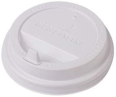 Одноразовая крышка для стакана Хухтамаки (диаметр - 90 мм) SP16, DW12, комплект 100 шт., пищевой полистирол