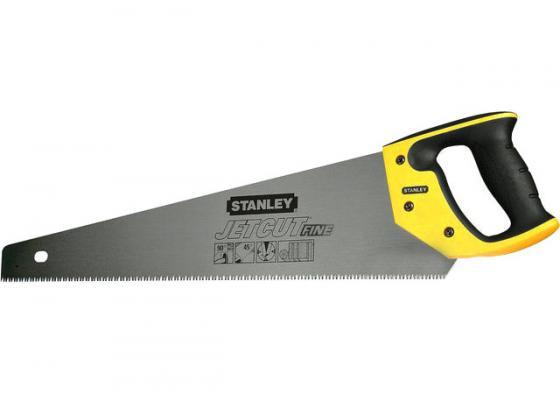 Stanley ножовка по дереву jet-cut с мелким закаленным зубом 11 х 380mm (2-15-594) stanley ножовка по гипсокартону jet cut appliflon с закаленным зубом 7 х 450мм 2 20 149