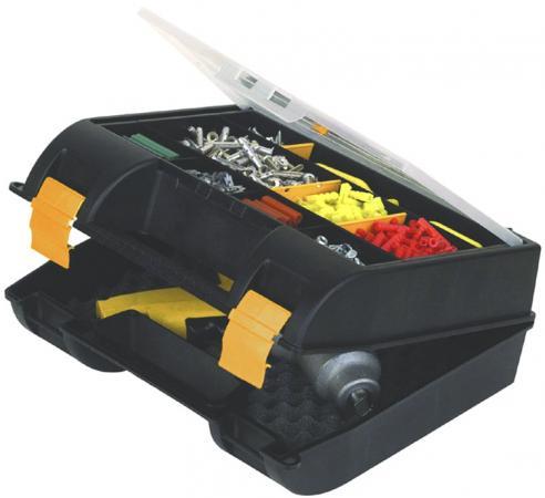 Stanley ящик для электро- или пневмоинструмента с органайзерами пластмассовый (21001) 35,9 х 32,4 х stanley ящик для инструмента 2000 с 2 мя встроенными органайзерами и металлическими замками пластм
