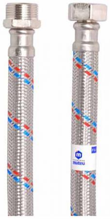 Подводка MATEU 13648 д/воды гигант 3/4 0.6м г-ш резина нержавеющая сталь 16бар внутр. d13 цена 2017