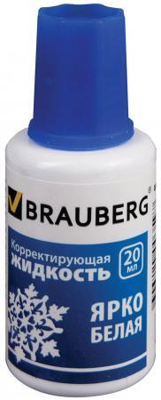 Корректирующая жидкость BRAUBERG 221013 20 мл все цены