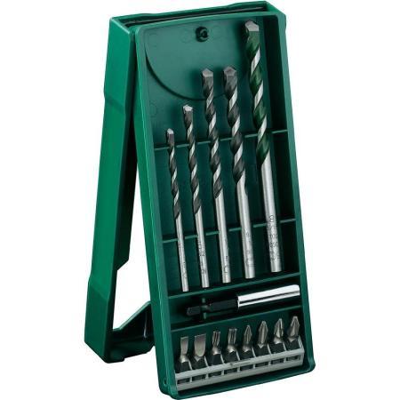 Набор бит и сверл Bosch 2607017161 Mini X-Line 14шт цена и фото