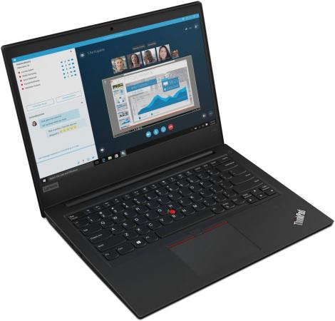 Ноутбук Lenovo ThinkPad E490 14 1920x1080 Intel Core i5-8265U 512 Gb 8Gb Bluetooth 5.0 Intel UHD Graphics 620 черный Windows 10 Professional 20N8002ART ноутбук lenovo thinkpad e490 20n8000srt core i5 8256u 8gb 256gb ssd 14 fullhd win10pro black
