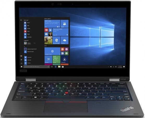 "Ноутбук Lenovo ThinkPad Yoga L390 13"" 1920x1080 Intel Core i7-8565U 512 Gb 8Gb Bluetooth 5.0 Intel UHD Graphics 620 черный Windows 10 Professional 20NT0010RT ноутбук lenovo thinkpad x1 yoga 14 2560x1440 intel core i7 6500u ssd 512 8gb intel hd graphics 520 черный windows 10 home 20frs0sd00"