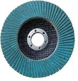 Круг Лепестковый Торцевой (КЛТ) АТАКА 993400 115мм Р60 цирконий синий