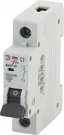 Автомат ЭРА Pro NO-900-08 ва47-29 1p 6а кривая c (12/180/3780) автомат 1p 6а тип с 4 5ка abb sh201l