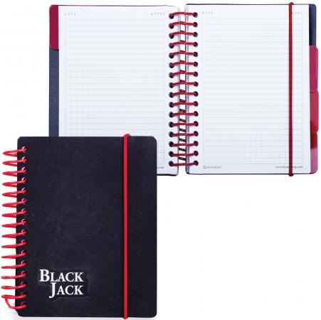Блокнот BRAUBERG Black Jack A6 150 листов блокнот printio jack of blades card