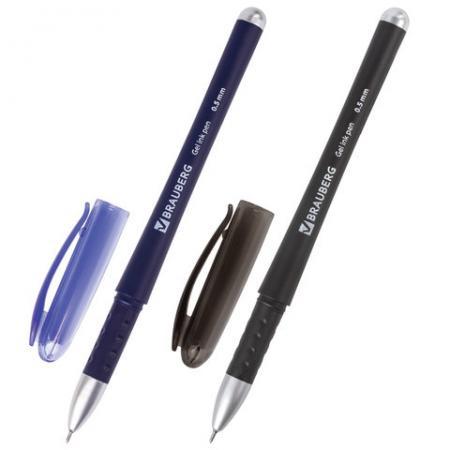Набор гелевых ручек гелевая BRAUBERG Impulse 2 шт синий черный 0.35 мм набор гелевых ручек paper mate pm 300 2 шт черный 0 7 мм pm s0929300