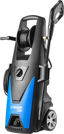 Мойка высокого давления (минимойка) электр, ЗУБР Профессионал АВД-П225, макс. 225Атм,408л/ч,3000Вт,колеса,бесщет двиг,АВТО-СТОП,барабан,пистолет 375 минимойка зубр профессионал авд п140