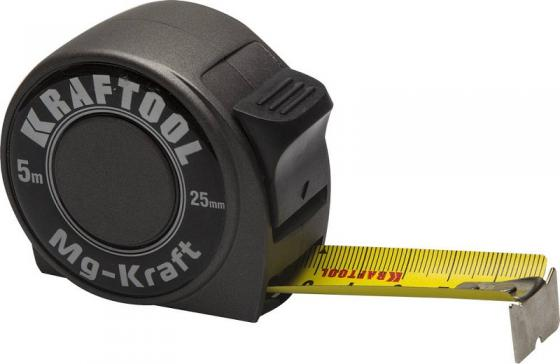 купить KRAFTOOL MG-Kraft 5м / 25мм ударопрочная профессиональная рулетка в металлическом корпусе недорого