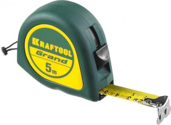 все цены на KRAFTOOL GRAND 5м / 19мм рулетка с ударостойким корпусом (ABS) и противоскользящим покрытием онлайн