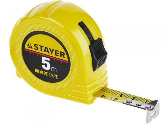 Рулетка Stayer 34014-10-25 10мx25мм рулетка stayer 34025 02 standard toptape