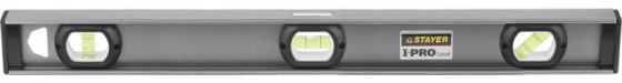 Уровень STAYER PROFESSIONAL I-PROLevel, усилен рельс с ручками, утолщен особопрочн профиль, точность 1мм/м, 3 ампулы, 200см уровень stayer professional i prolevel 1мм м 3 ампулы 120см 3477 120