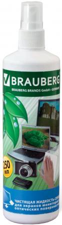Фото - Спрей-очиститель BRAUBERG 510117 250 мл чашка чайная gutenberg цветение сливы мейхуа 200009 разноцветный 100 мл