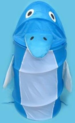 """лучшая цена Корзина для игрушек """"Дельфин"""", 38*45 см"""