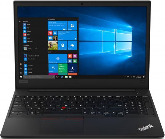 Ноутбук Lenovo ThinkPad Edge E590 15.6 1920x1080 Intel Core i7-8565U 1 Tb 8Gb Bluetooth 5.0 Intel UHD Graphics 620 черный Windows 10 Professional 20NB000XRT