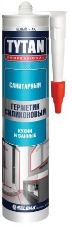 ГЕРМЕТИК СИЛИКОН. САНИТАРНЫЙ БЕЛЫЙ 280 МЛ (12) TYTAN герметик силикон универсальный белый 80 мл 10 tytan