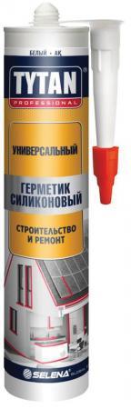 ГЕРМЕТИК СИЛИКОН. УНИВЕРСАЛЬНЫЙ БЕЛЫЙ 280 МЛ (12) TYTAN герметик силикон универсальный белый 80 мл 10 tytan