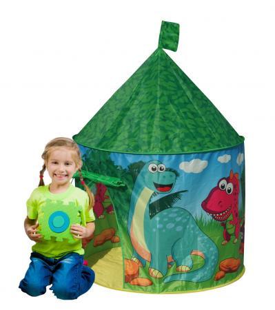 Игровой дом- палатка BestToys Динозавр, игровая палатка besttoys принцесса
